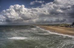 Holländische Küste Stockbild