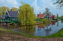 Holländische Landschaft. Stockbilder