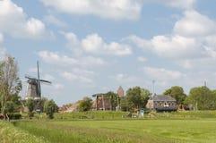Holländische Landschaft Lizenzfreie Stockfotografie