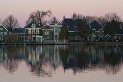 holländische Landschaft Stockbilder