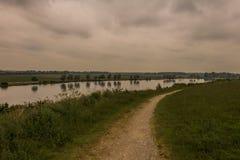 Holländische Landschaft Stockbild