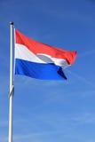 Holländische Markierungsfahne Stockfotografie