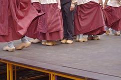 Holländische Tänzer im Festival Stockfotografie