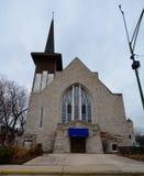 Holländische verbesserte Kirche Stockbild