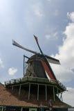 Holländische Windmühle lizenzfreies stockbild