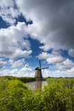 Holländische Windmühle Lizenzfreies Stockfoto