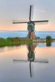 Holländische Windmühle Stockbild