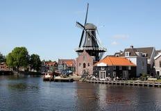 Holländische Windmühle Lizenzfreie Stockbilder