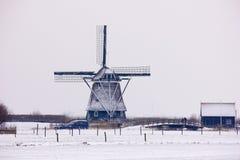 Holländische Windmühle Stockfoto
