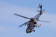 Holländischer Apache AH-64D zeigen allein Team an stockfotos
