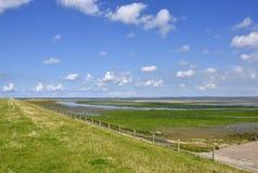 Holländischer Damm Stockbild