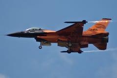 Holländischer F-16 Stockfotos