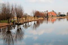 Holländischer Fluss Stockbild