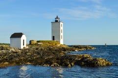 Holländischer Insel-Leuchtturm lizenzfreie stockfotografie