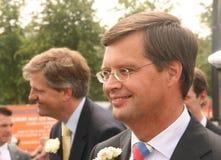 Holländischer Premierminister Balkenende Stockfoto