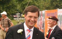 Holländischer Premierminister Balkenende Stockfotografie
