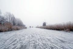 Holländischer Winter lizenzfreie stockfotos