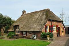 Holländisches Bauernhaus Stockfoto