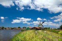 Holländisches Dorf Stockfotografie