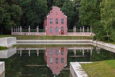 Holländisches Haus Stockfoto
