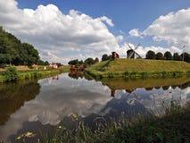 Holländisches Panorama Stockbilder