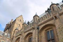 Holländisches Parlament. Ridderzaal, Stockfotos