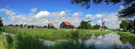 holländsk by royaltyfri fotografi