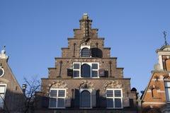 Holländsk byggnad för tappning Royaltyfri Bild