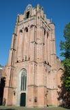 Holländsk churchtower i Wijk bij Duurstede Royaltyfri Fotografi
