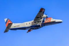 Holländsk Coastguard Dornier Do228 royaltyfri fotografi
