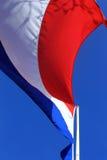 holländsk flagga Fotografering för Bildbyråer