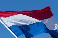 holländsk flagga Royaltyfri Bild