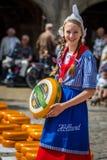 Holländsk flicka Fotografering för Bildbyråer