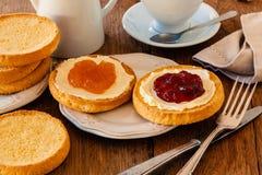 Holländsk frukost Arkivfoton