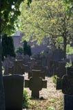 Holländsk gammal kyrkogård Royaltyfri Foto