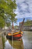 Holländsk kanal arkivfoton