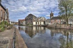 Holländsk kanal royaltyfria foton