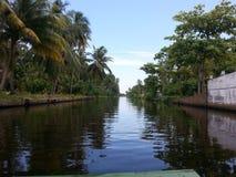 Holländsk kanal Sri Lanka Fotografering för Bildbyråer