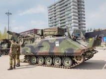 Holländsk militär behållare Fotografering för Bildbyråer