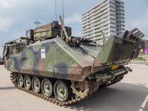 Holländsk militär behållare Royaltyfri Fotografi