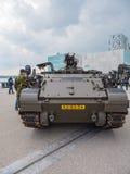 Holländsk militär behållare Arkivfoto