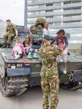 Holländsk militär behållare Royaltyfria Foton