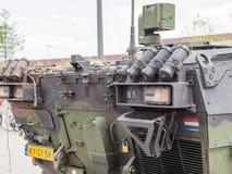 Holländsk militär behållare Royaltyfria Bilder