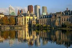 Holländsk parlament, stad Haag, Nederländerna Royaltyfria Bilder