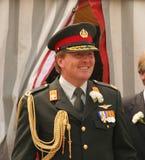 holländsk prince willem för alexander krona Fotografering för Bildbyråer