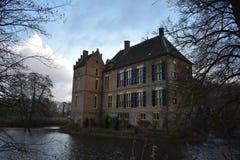 Holländsk slott Vorden royaltyfria bilder