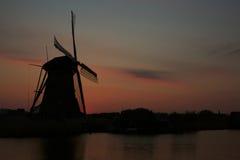 Holländsk väderkvarn Royaltyfria Bilder