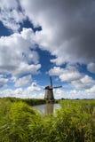 holländsk windmill royaltyfri foto