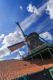 holländsk windmill Royaltyfri Fotografi
