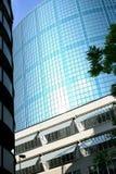 holländska glass solljusparasoller för byggnad Arkivfoto